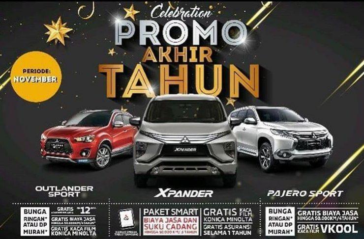 Promo Akhir Tahun Mitsubishi